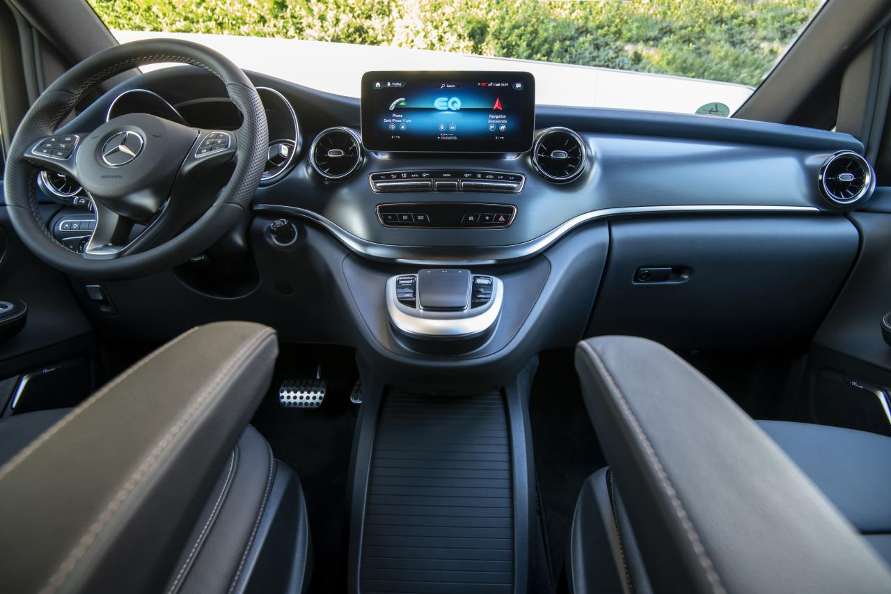 MBUX infotainment system.